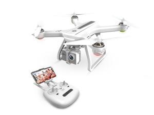 Holy Stone - HS700 Brushless Motor 5G Wifi FPV Drone with 1080P FHD Camera and GPS, White