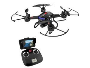 Holy Stone - F181G 5.8G Wifi FPV Drone with 720P Camera and Bonus Battery, Black
