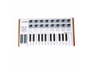 N-AUDIO MINI Controller Mini Portable 25-Key USB MIDI Keyboard Controller