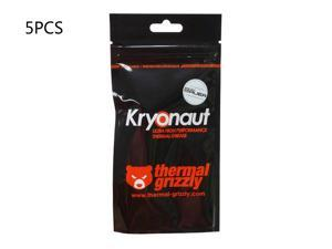 5-Pack Thermal Grizzly Kryonaut Thermal Grease Paste - 1.0 Gram Model TG-K-015-R-1g