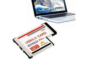 High Full Speed Express Card Expresscard to USB 3.0 54mm Adapter Converter