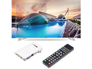Analog TV Box LCD/CRT VGA/AV Stick Tuner Box View Receiver Converter