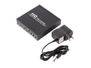 Scart/HDMI to HDMI 720P 1080P HD Video Converter Monitor Box For HDTV DVD STB