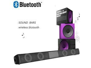 Latest Wireless Bluetooth Soundbar Stereo Speaker TV Home Theater Sound Bar Subwoofer