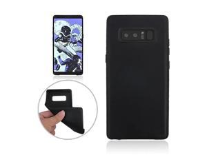 TPU Protective Back Case Cover for Samsung GALAXY Note 8 - Black/Protective Scratches-