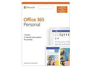 Office 365 Personal (1 Person) (12 Month Subscription) - Android|Mac|Windows|iOS
