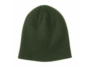 461699d77b4 WITHMOONS Knitted Beanie Hat Basic Plain Solid ...