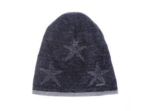 WITHMOONS Knitted Beanie Hat Star Patterned ... bfa916a71