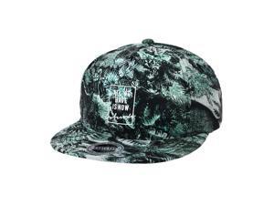 9523e17f395 WITHMOONS Summer Palm Tree Pattern Baseball Cap Snapback Hat CR2753 (Green)