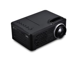 RD - 814 LED Mini Projector - Portable, 1080P Multimedia for Photo Music Movie Text