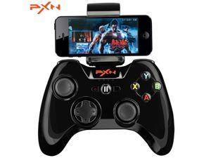 PXN - 6603 MFi Certified Wireless Bluetooth Game Controller Joystick Vibration Handle Gamepad for iPhone / iPad / iPod Touch / Apple TV