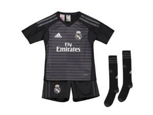 2018-2019 Real Madrid Adidas Home Goalkeeper Mini Kit c86caa5a2