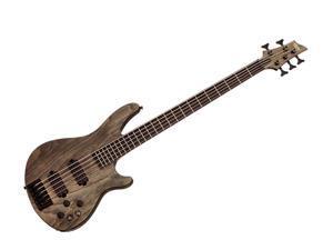 Schecter C-5 Apocalypse Electric Guitar - Ebony/Rusty Grey - 1318