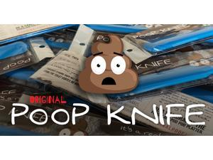 Original Poop Knife Gag Gift - Do you, your friends or family POOP BIG? It cuts poop too!