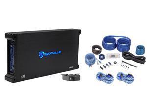 Rockville dB55 4000 Watt/2000w RMS 5 Channel Car Stereo Amplifier+Amp Kit Loud !
