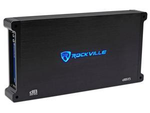 "Rockville 3000w Amplifier For 2) Kicker 44L7S122 L7S122 SoloBaric 12"" Subwoofers"