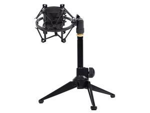 Rockville RDTS Adjustable Studio Desktop Tripod Microphone Stand+Shockmount