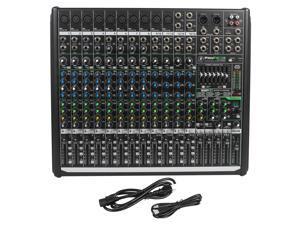 Mackie PROFX16v2 Pro 16 Channel Soundboard Mixing Console Mixer 4 Church/School