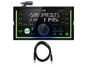 JVC KW-X830BTS 2-Din Digital Media Bluetooth Receiver, USB/iphone/SiriusXM+Cable