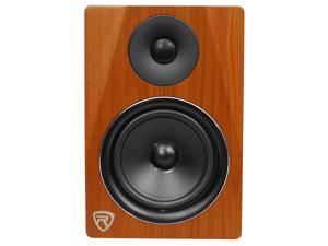 "Rockville DPM6C 6.5"" 2-Way 210W Wood Active/Powered Studio Monitor Speaker"