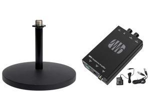 Presonus HP2 2 Channel Stereo Headphone Amplifier System HP-2+Desk Stand