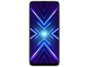 "Honor 9X ( STK-LX3) 6.59"" Display, 128GB Memory + 6GB RAM, 3 Ai Cameras, 4000mAh Battery, Dual SIM GSM Unlocked US + Global 4G LTE International Model - No Warranty"
