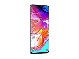 "Samsung Galaxy A70 128GB/6GB SM-A705M/DS 6.7"" HD+ Infinity-U 4G/LTE Factory Unlocked Smartphone (International Version) (Black)"