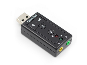 USB external 3D SOUND CARD 7.1 Adapter For Windows MAC OS