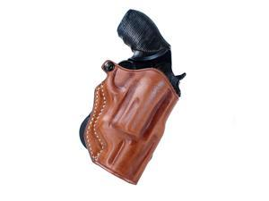 Masc Leather Paddle Holster Fits Taurus 4510 The Judge Revolver  2.5'' Barrel, Right Hand Draw, Brown Color #1164#