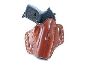 Masc Leather Pancake Holster Fits Walther Ppk/s 3.3'' Barrel, Right-Hand Draw, Brown Color #1170#