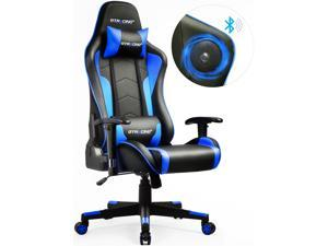 GTRACING Gaming Chair with Bluetooth Speakers {Patented} Music Video Game Chair Audio Heavy Duty Computer Desk Chair ...