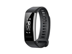 Huawei Band 2 Pro All-in-One Activity Tracker Smart Fitness Wristband | GPS | Multi-Sport Mode| Heart Rate | Sleep Monitor | 5ATM Waterproof, Black