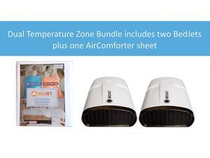 BedJet Queen Dual Zone Climate Comfort System with Biorhythm Sleep Technology