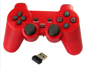 Red Wireless 2.4Ghz Controller GAME PAD for Retropie Raspberry Pi PC PSthree Andriod