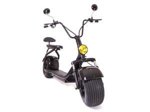eDrift UH-ES295 2.0 30MPH Electric Fat Tire Scooter Moped with Shocks 2000W Hub Motor E-Bike