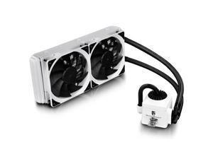 DEEPCOOL CAPTAIN 240EX WHITE 2x120mm CPU Liquid Cooler for Intel