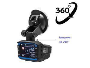 Podofo 3 in 1 Car DVR Russian Radar Detector GPS Tracker Car DVR Camera Driving Recorder Anti Radar Dash Cam Electronic Dog