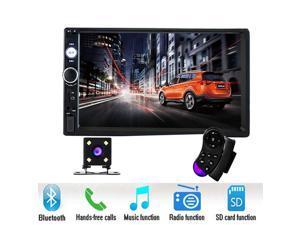 "Podofo car radio 2 din 7"" HD Player MP5 Touch Screen Digital Display Bluetooth USB SD Multimedia 2din Autoradio Rear View Camera"