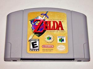 Legend of Zelda: Ocarina of Time Video Game Cart for N64 (Nintendo 64, 1998)