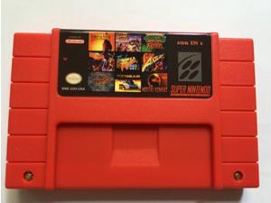 Super Nintendo 100 in 1 Video Game Cart Batman/Castlevania/Clay Fighter/Final