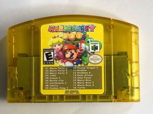 18 in 1 Mario Party 1 2 3 Aggregation +15 NES Video Games Cartridge For N64 Console (US Version)
