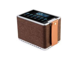 "Sonicgrace WiFi Internet Radio Bluetooth Speaker with 8"" High Definition Touchscreen, HD Sound Extra Bass Music Player for Stream Music"