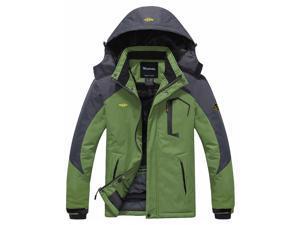 Wantdo Men s Mountain Waterproof Ski Jacket ... e55f4fa4d