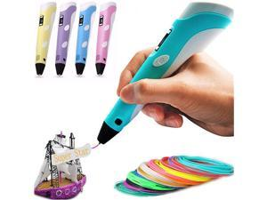 3D Pen, Nurbenn 3D Printing Drawing Printer Pens 3D Art Craft Models DIY Design - Green