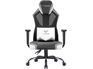 Vitesse Gaming Chair Breathable Mesh High Back Racing Style Office Chair Ergonomic Swivel Computer Desk Chair with Lumbar Support