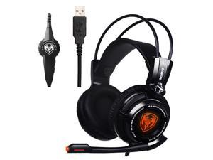 e6ea1daf8ee SOMIC G941 USB Gaming Headphones 7.1 Virtual Surround Sound Headset with  Microphone and Vibration For PS4