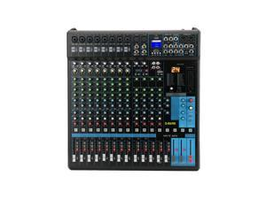 G-MARK MG16MP3 Professional Audio Mixer Sound Board Console System Interface 16 Channel Digital USB Bluetooth MP3 Computer Input DJ mixer 24-Bit SPX effects