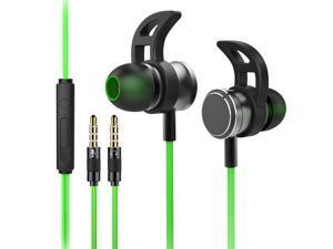 3.5mm Game Headset For Phone PC Gaming Headphone with Microphone Earmuff Headset