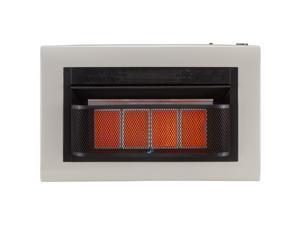 Cedar Ridge Hearth Dual Fuel Ventless Infrared Heater Model#CH4TPU - 4 Plaque, 25,000 BTU, T-Stat Control