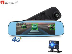 Mirrors 4.3 Hd Video Dual Lens Dvr Led Camera Rearview Mirror Car 1080p Driving Recorder To Help Digest Greasy Food